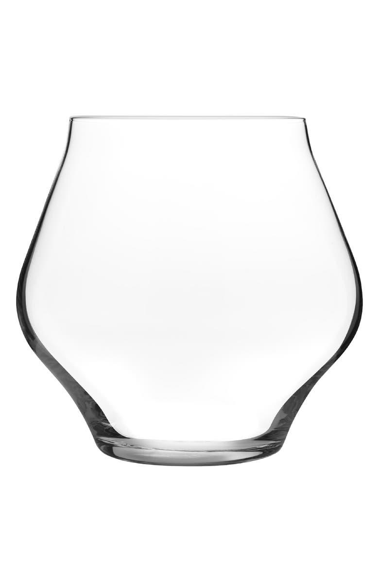 LUIGI BORMIOLI Supremo Set of 6 Stemless Wine Glasses, Main, color, 100