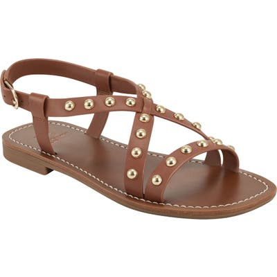 Marc Fisher Ltd Fianna Sandal- Brown