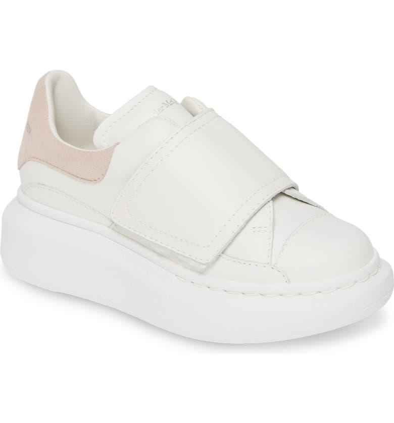 ALEXANDER MCQUEEN Platform Sneaker, Main, color, WHITE/ PATCHOULI