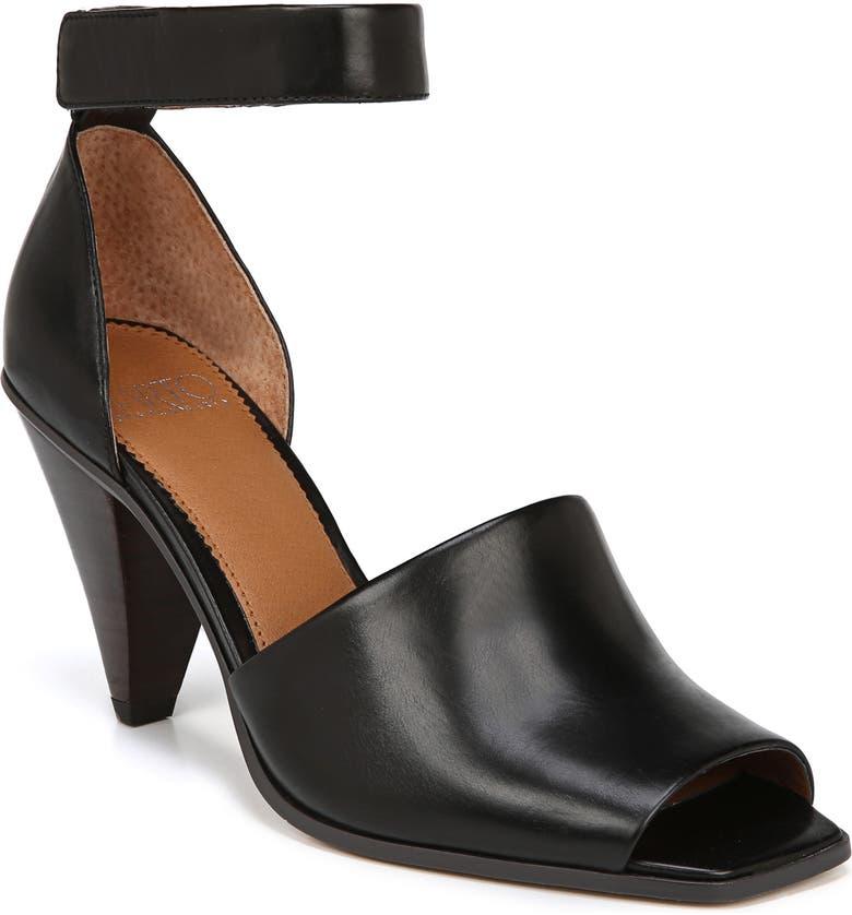 SARTO BY FRANCO SARTO Ankle Strap Sandal, Main, color, 001