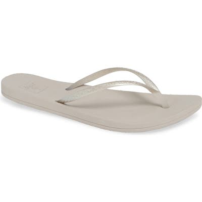 Reef Escape Lux Metallic Flip Flop, Metallic