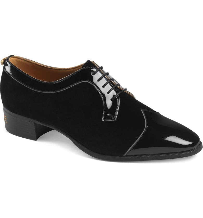 GUCCI Thune Cap Toe Oxford, Main, color, 005
