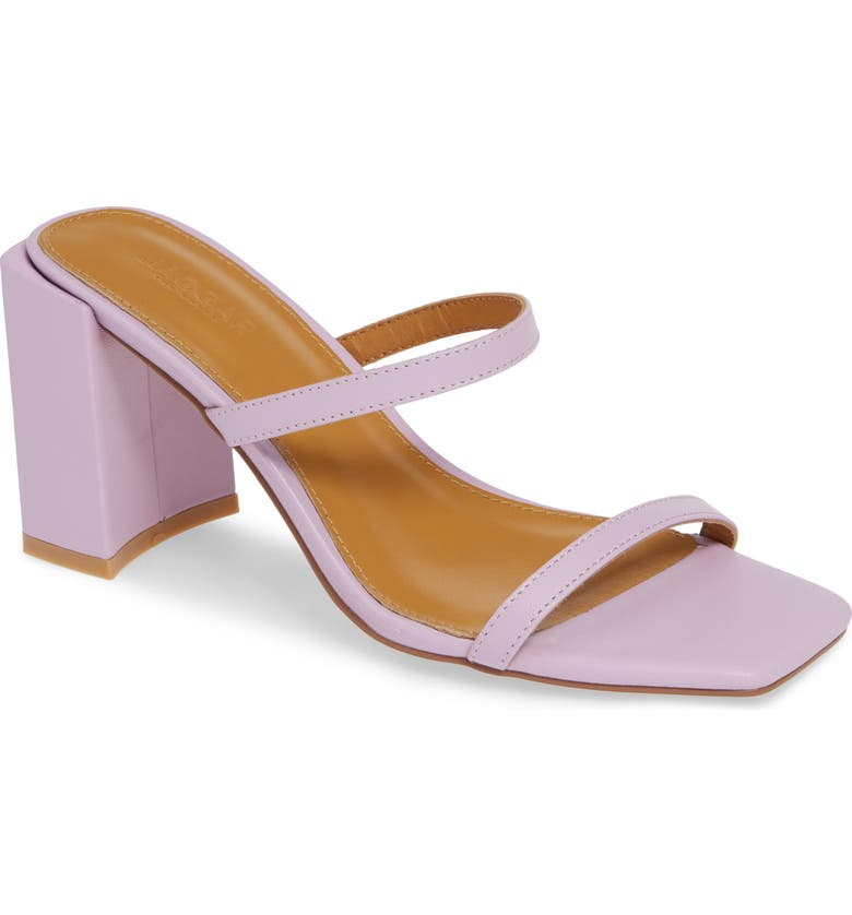 JAGGAR Strappy Slide Sandal, Main, color, LILAC LEATHER