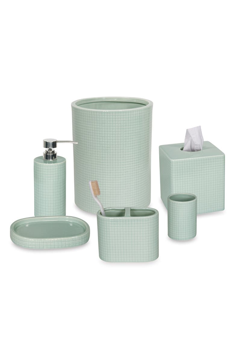 Fine Grid 4 Piece Bath Set by Dkny