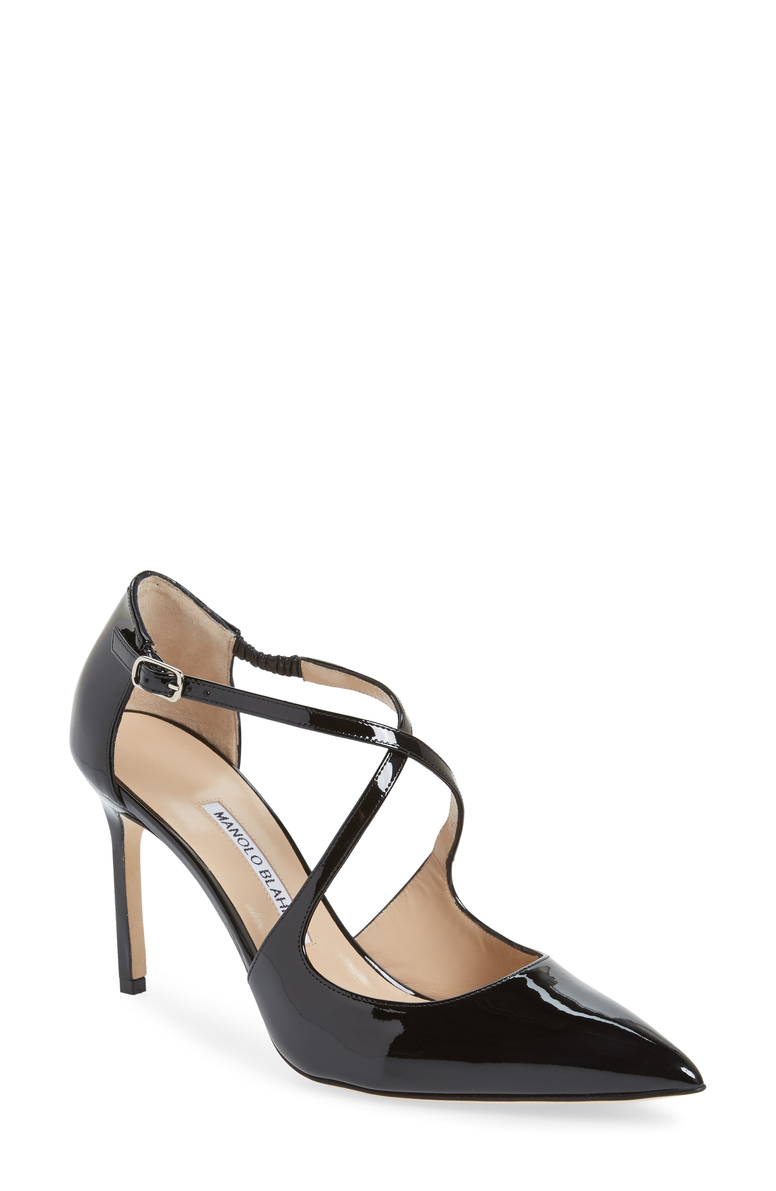 Umice Pointy Toe Pump, Main, color, BLACK PATENT