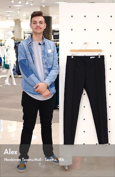 Center Seam Slim Fit Pants, sales video thumbnail
