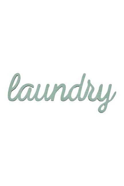Image of Stratton Home Blue Laundry Wall Art