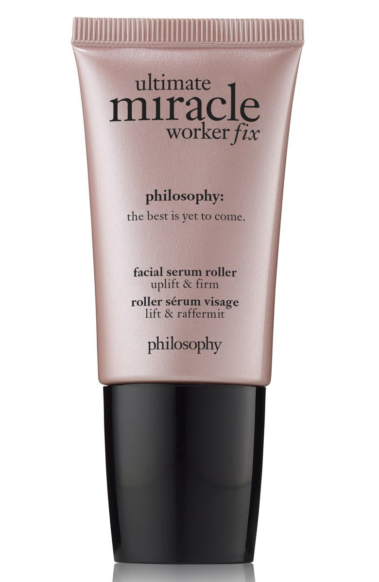 PHILOSOPHY ultimate miracle worker fix facial serum roller, Main, color, NO COLOR