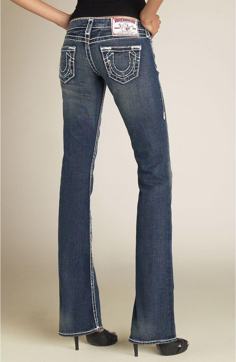 TRUE RELIGION BRAND JEANS 'Bobby' Stretch Jeans, Main, color, 401