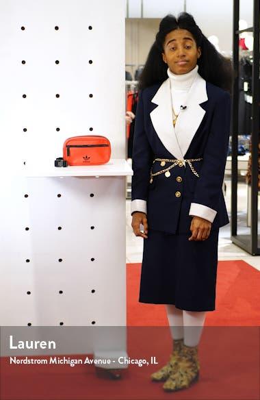 adidas Faux Leather Belt Bag, sales video thumbnail