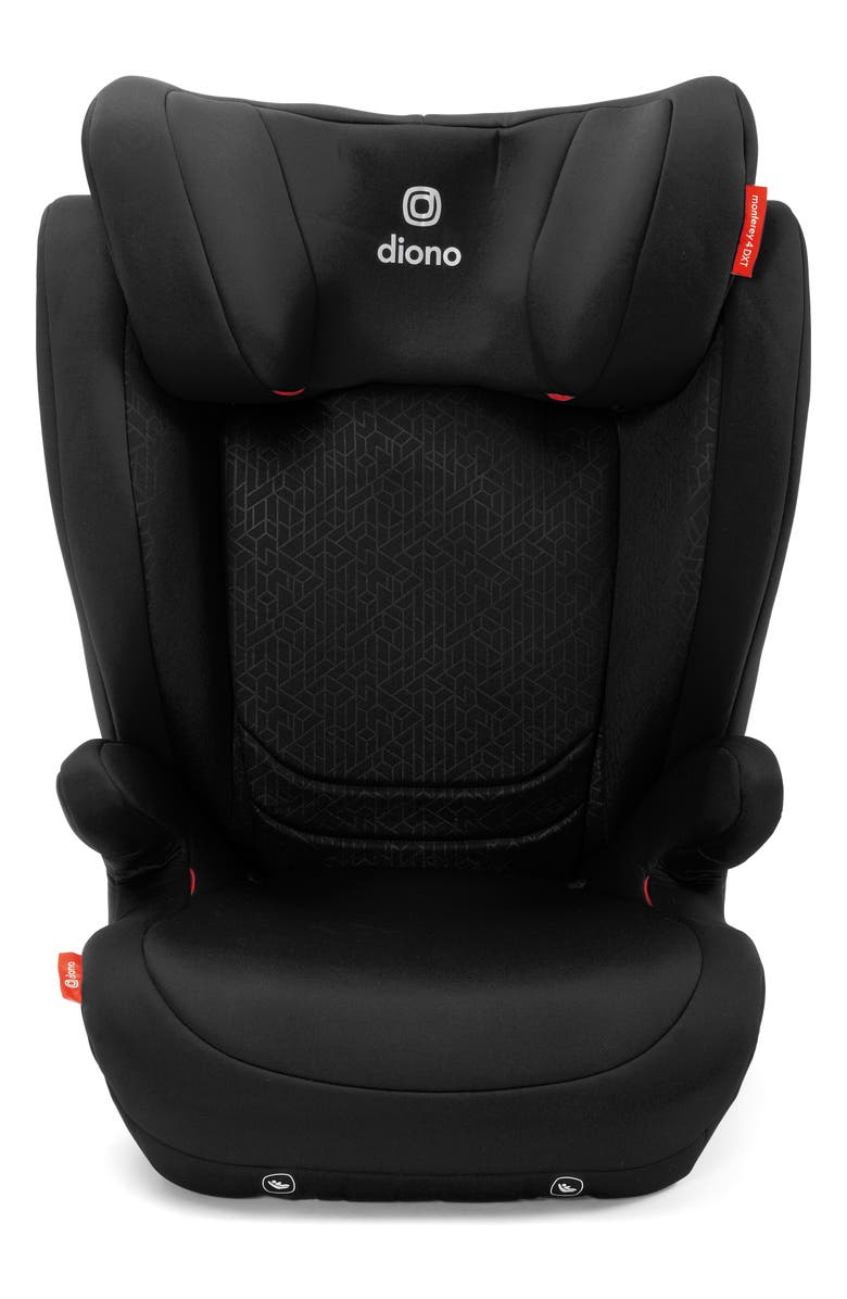 DIONO Monterey<sup>®</sup> 4DXT Booster Car Seat, Main, color, BLACK