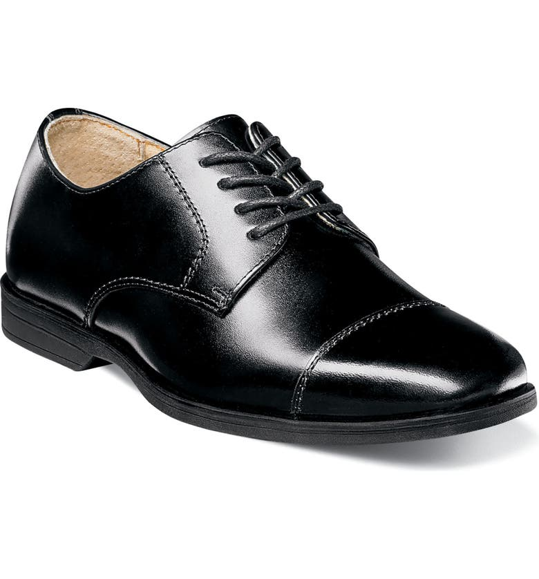 FLORSHEIM Reveal Cap Toe Derby, Main, color, BLACK