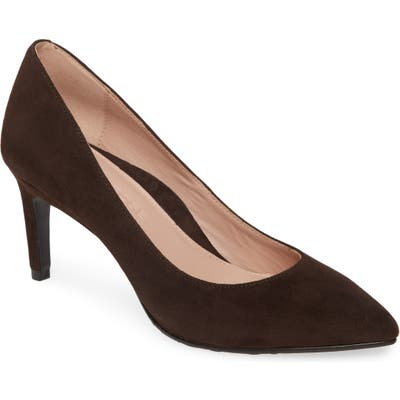 Taryn Rose Collection Gabriela Pointy Toe Pump, Brown