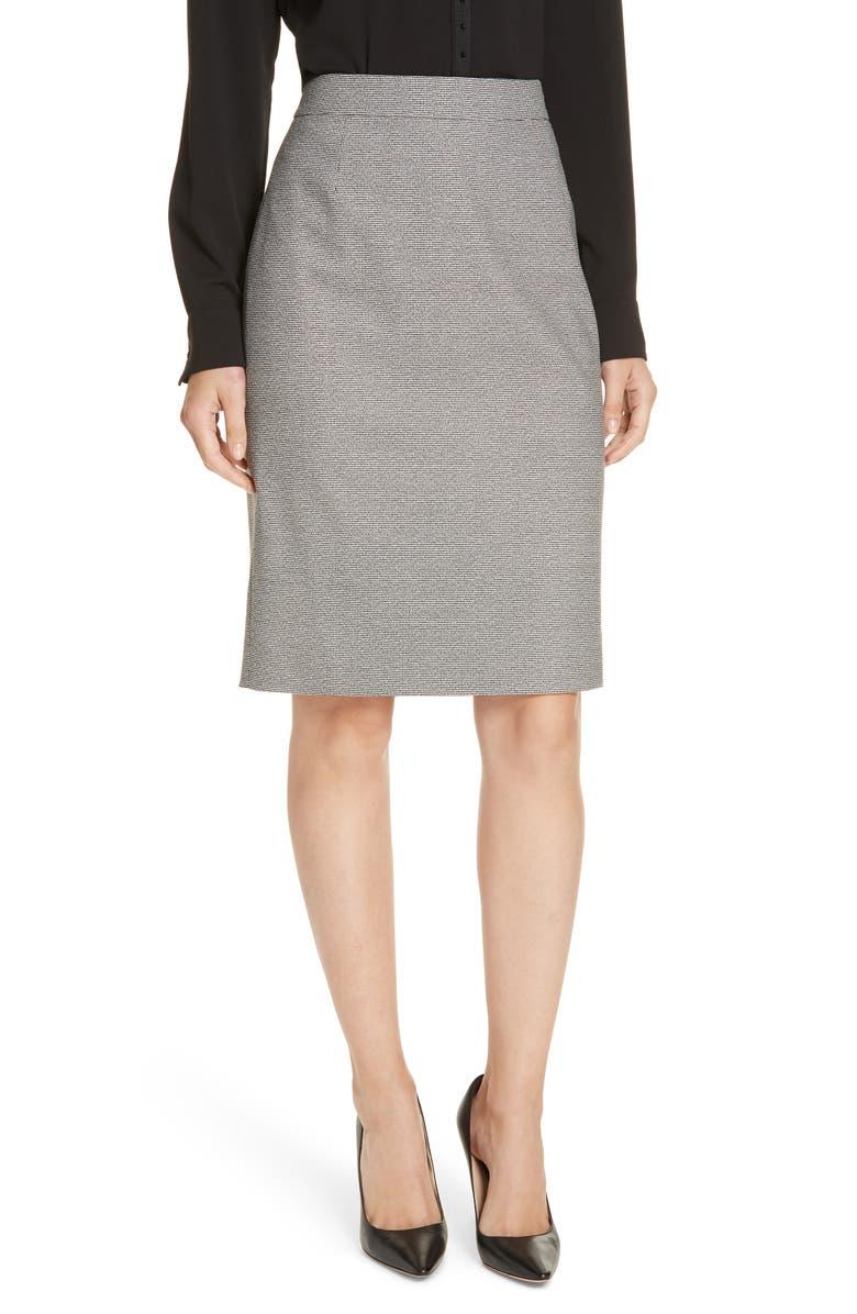 BOSS Virafia Suit Skirt, Main, color, 001