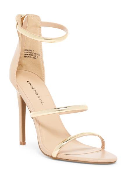 Image of bebe Berdine Strappy Stiletto Sandal