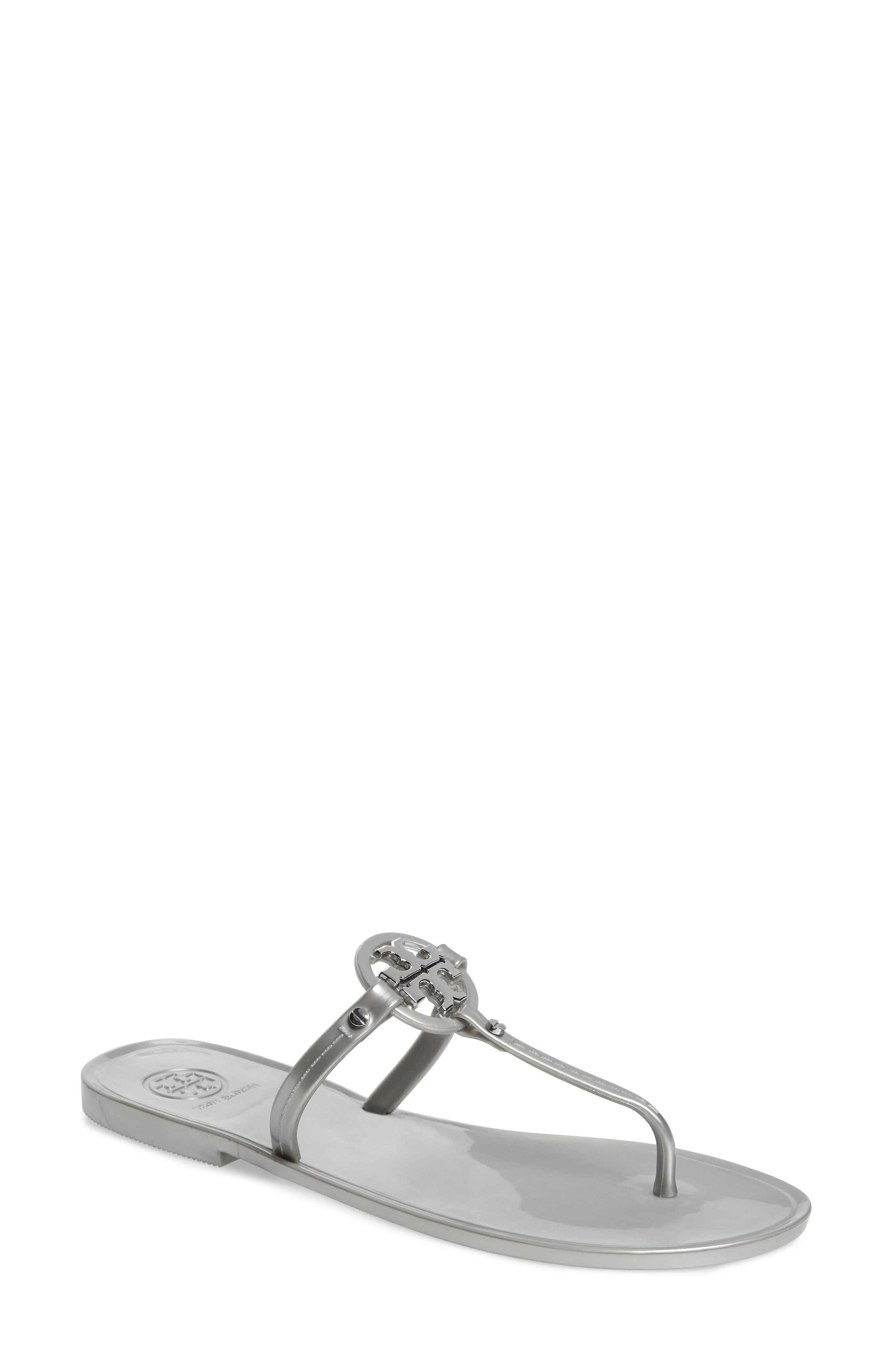 Tory Burch 'Mini Miller' Flat Sandal (Women)