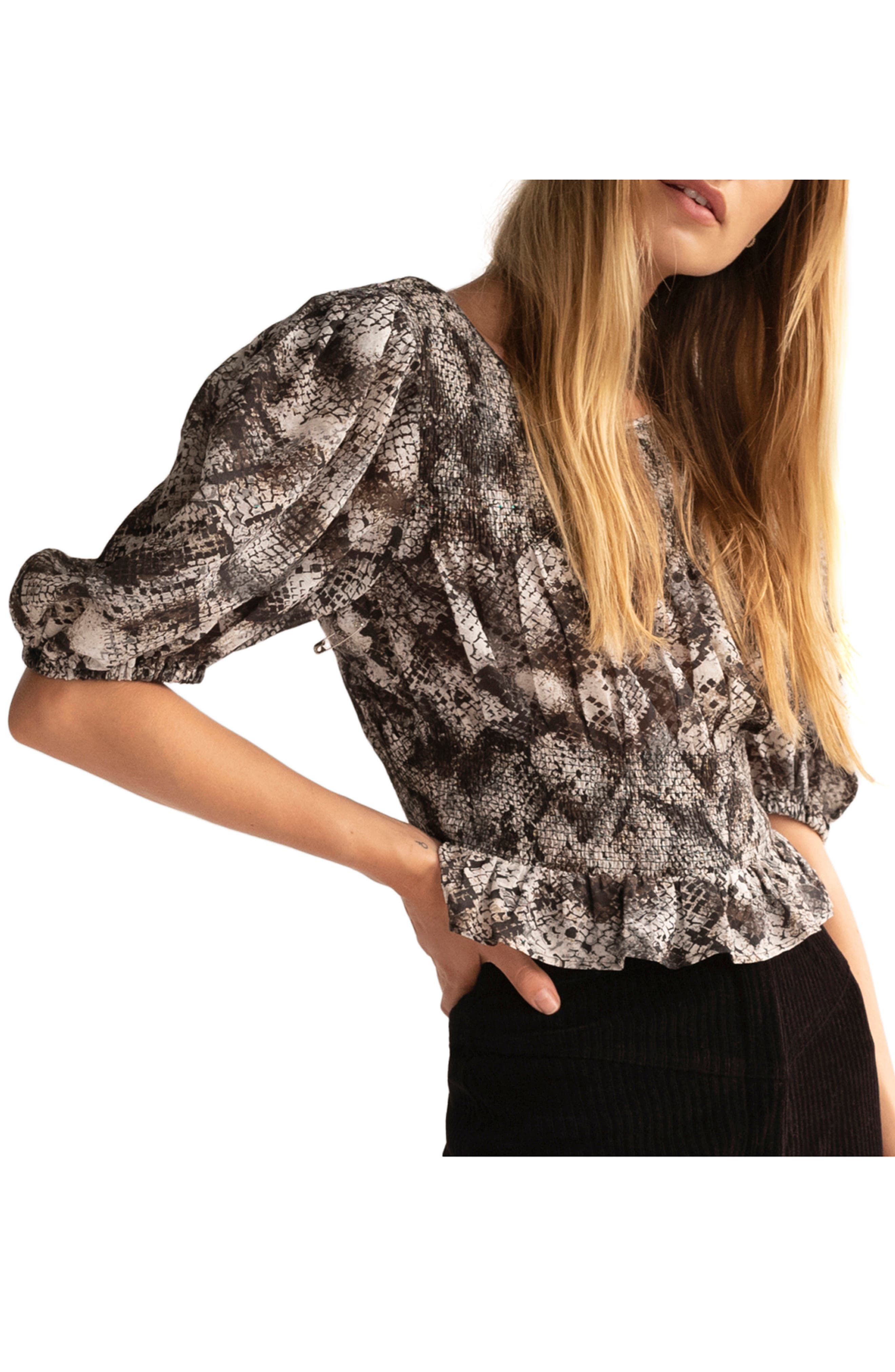 Free People XOXO Blouse | Nordstrom