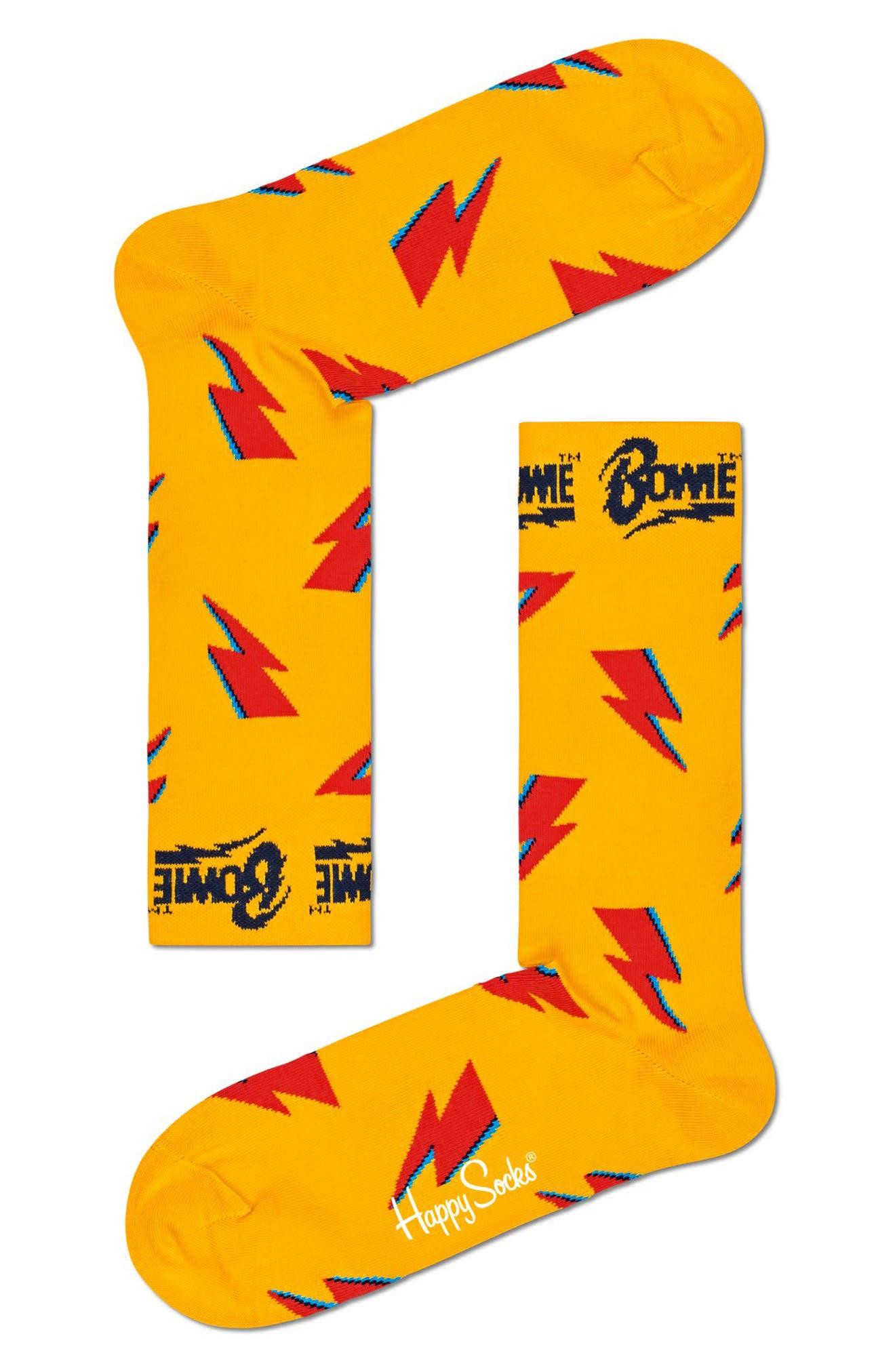 Flashy Bowie Socks