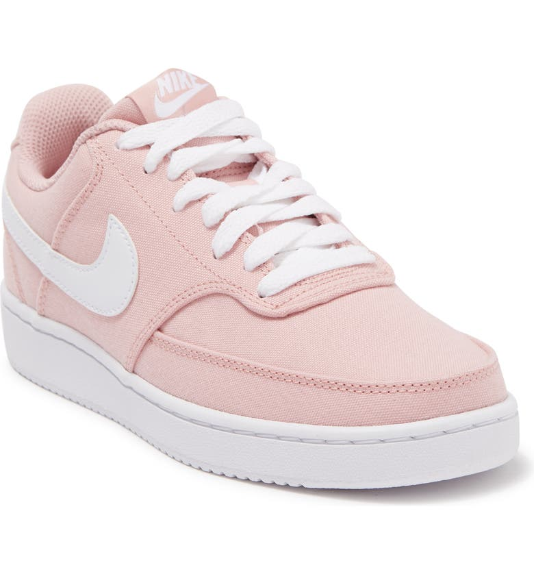 NIKE Court Vision Low Sneaker, Main, color, 600 PNKGLZ/WHITE