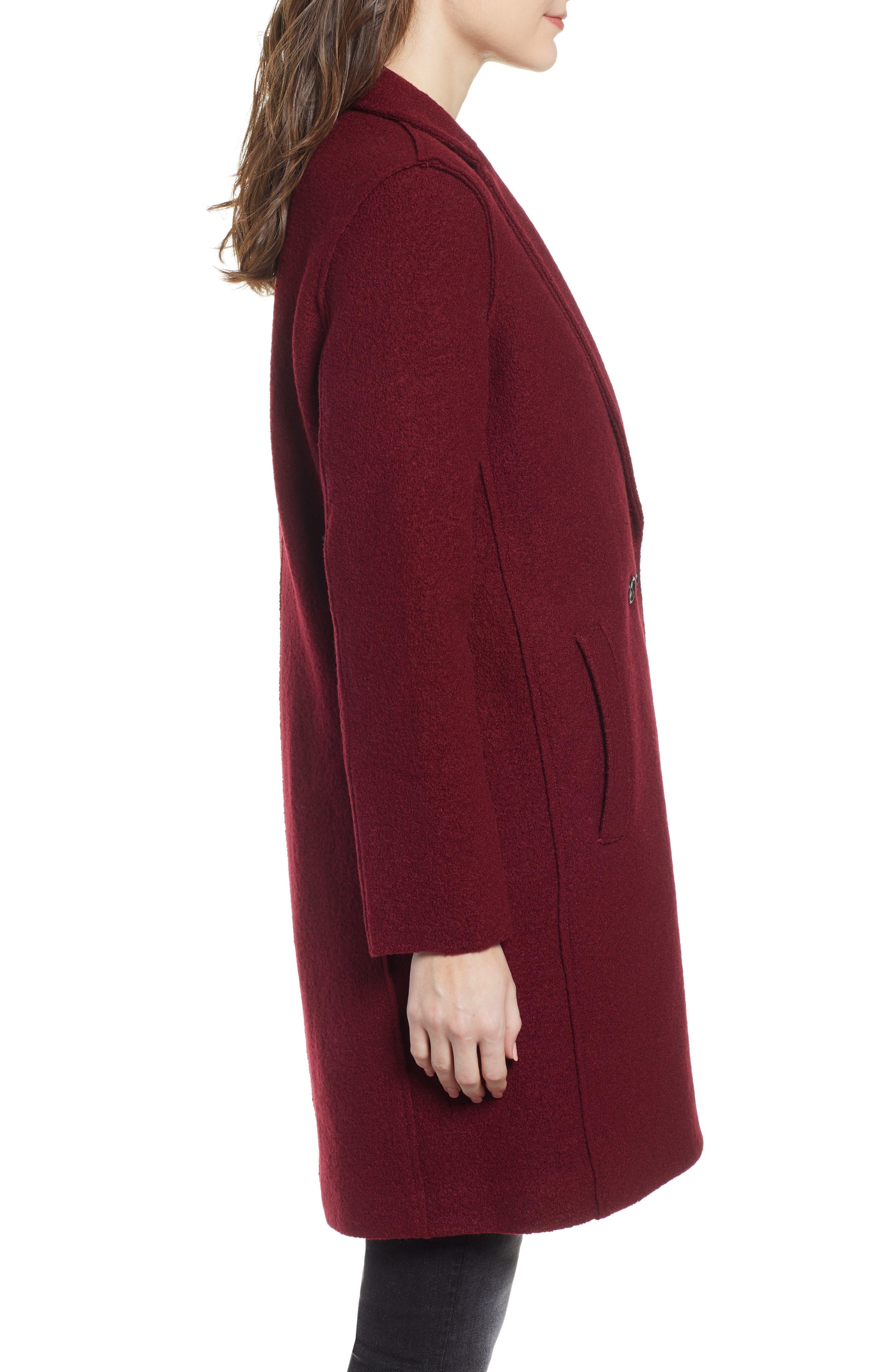 ,                             Daphne Boiled Wool Topcoat,                             Alternate thumbnail 55, color,                             602