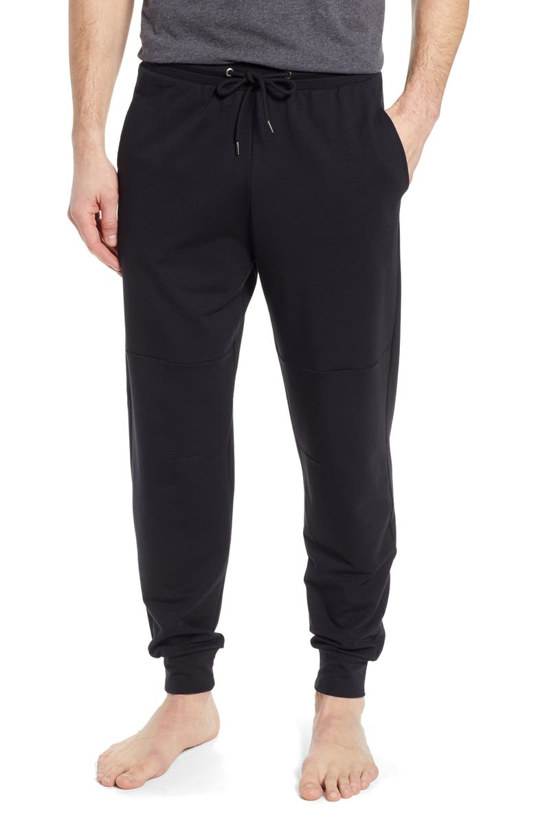 NORDSTROM MEN'S SHOP Lounge Jogger Pants, Main, color, BLACK