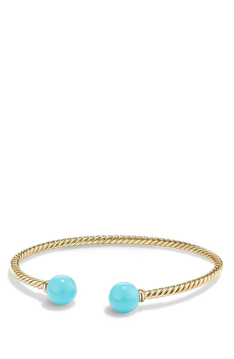DAVID YURMAN Solari Bead Bracelet, Main, color, TURQUOISE