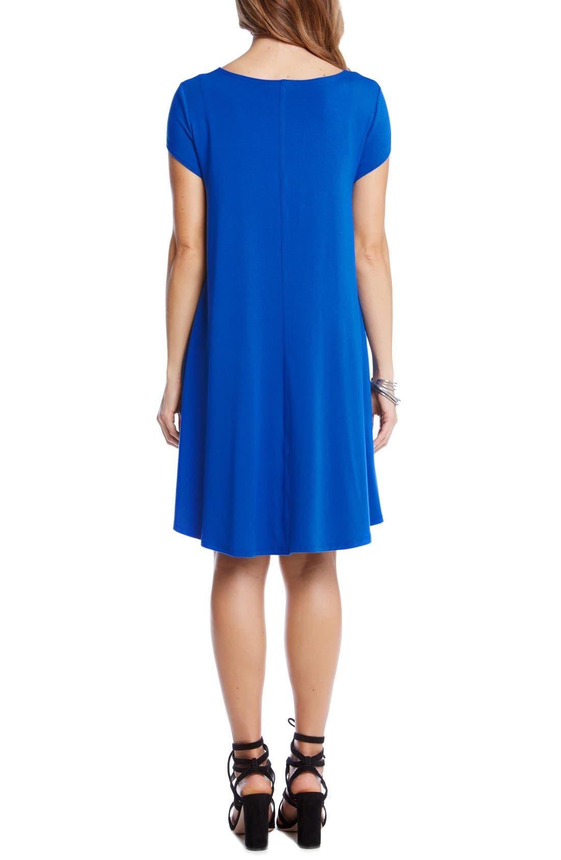 ,                             'Maggie' Cap Sleeve Trapeze Dress,                             Alternate thumbnail 20, color,                             430