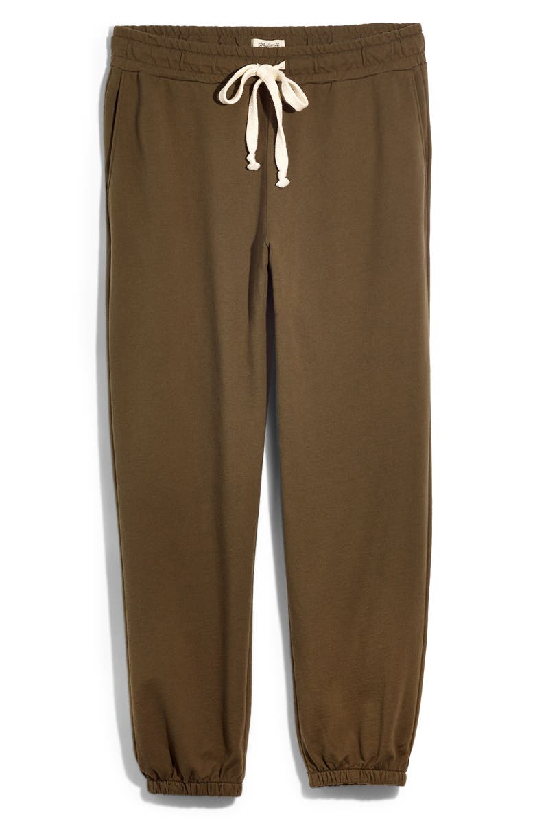 MADEWELL Pajama Sweatpants, Main, color, FADED IVY