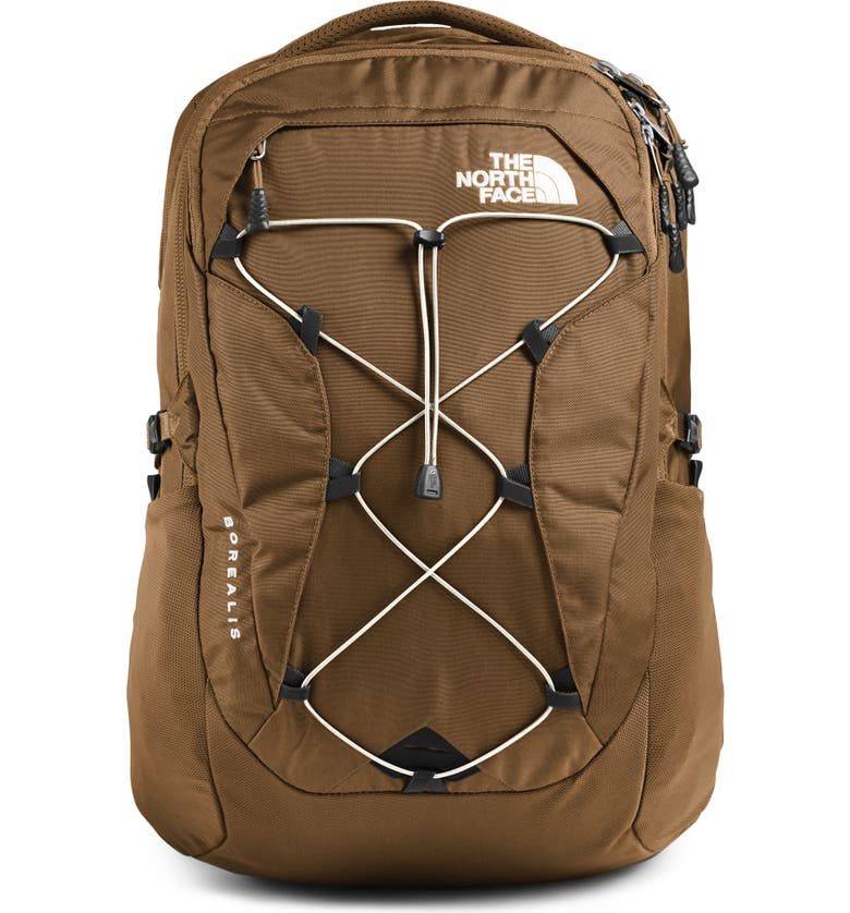 THE NORTH FACE Borealis Backpack, Main, color, UTILITY BROWN/ VINTAGE WHITE