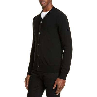 Comme Des Garcons Play Wool Cardigan, Black