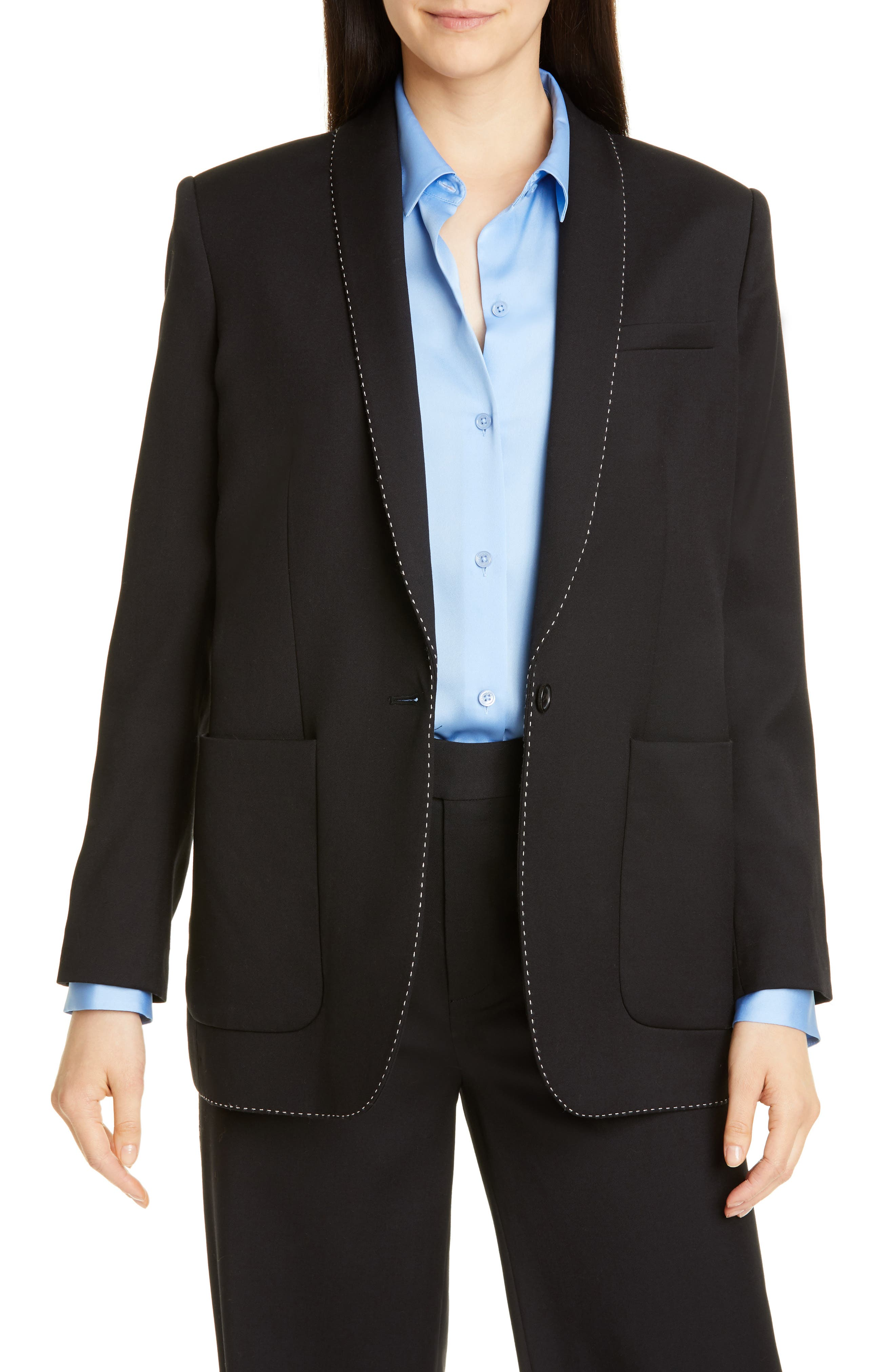 Image of Equipment Matthieu Wool Blazer