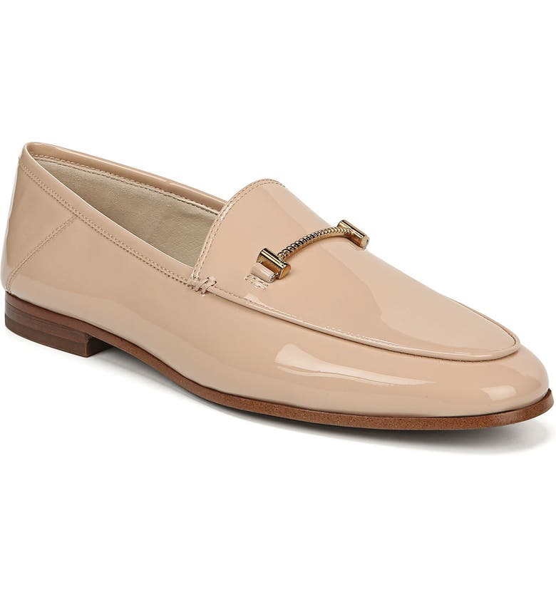 SAM EDELMAN Lior Loafer, Main, color, BLUSH NUDE PATENT FAUX