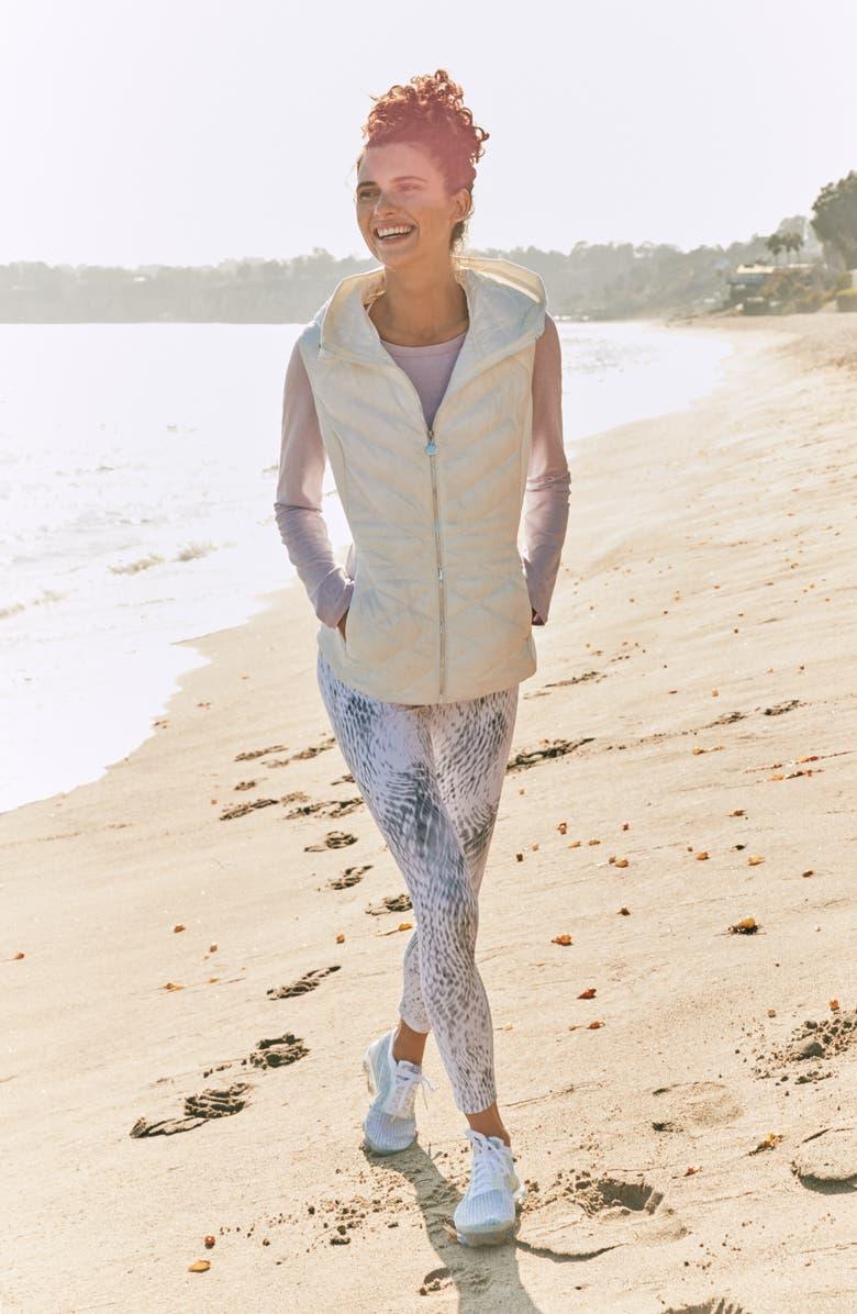 ZELLA Liana Long Sleeve Recycled Blend Performance T-Shirt, Main, color, 002