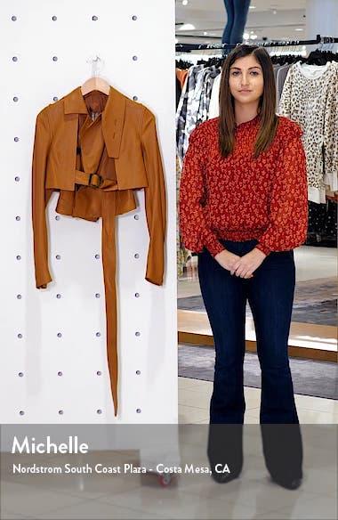 Crop Leather Jacket, sales video thumbnail