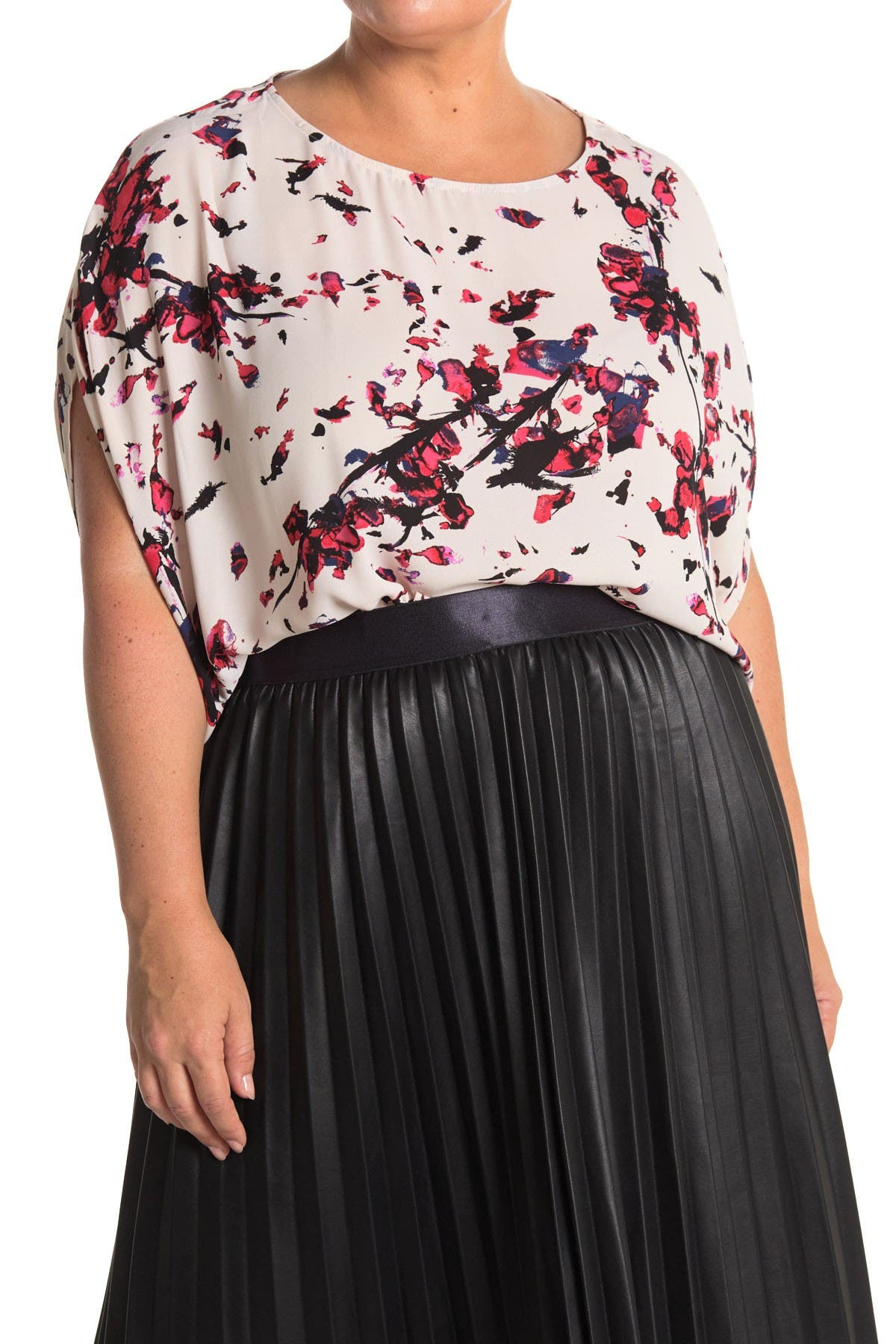 Image of Rachel Rachel Roy Floral Drape Top
