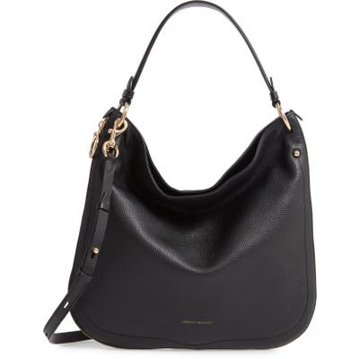 Rebecca Minkoff Jody Convertible Leather Hobo Bag - Black