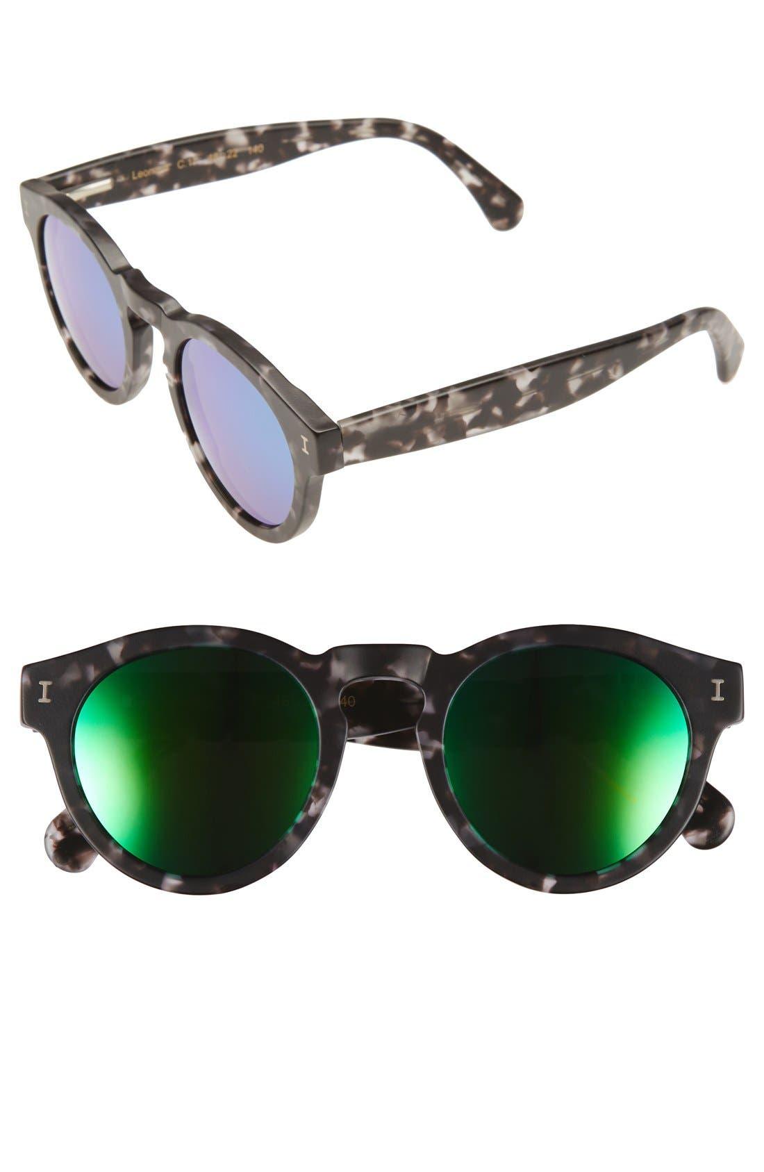 ,                             'Leonard' 47mm Sunglasses,                             Main thumbnail 35, color,                             030