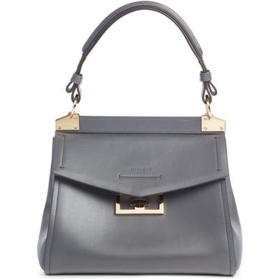Givenchy Small Mystic Leather Satchel - Grey