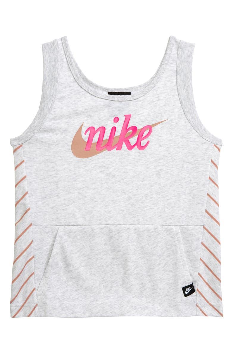 NIKE Sportswear Logo Tank, Main, color, 222
