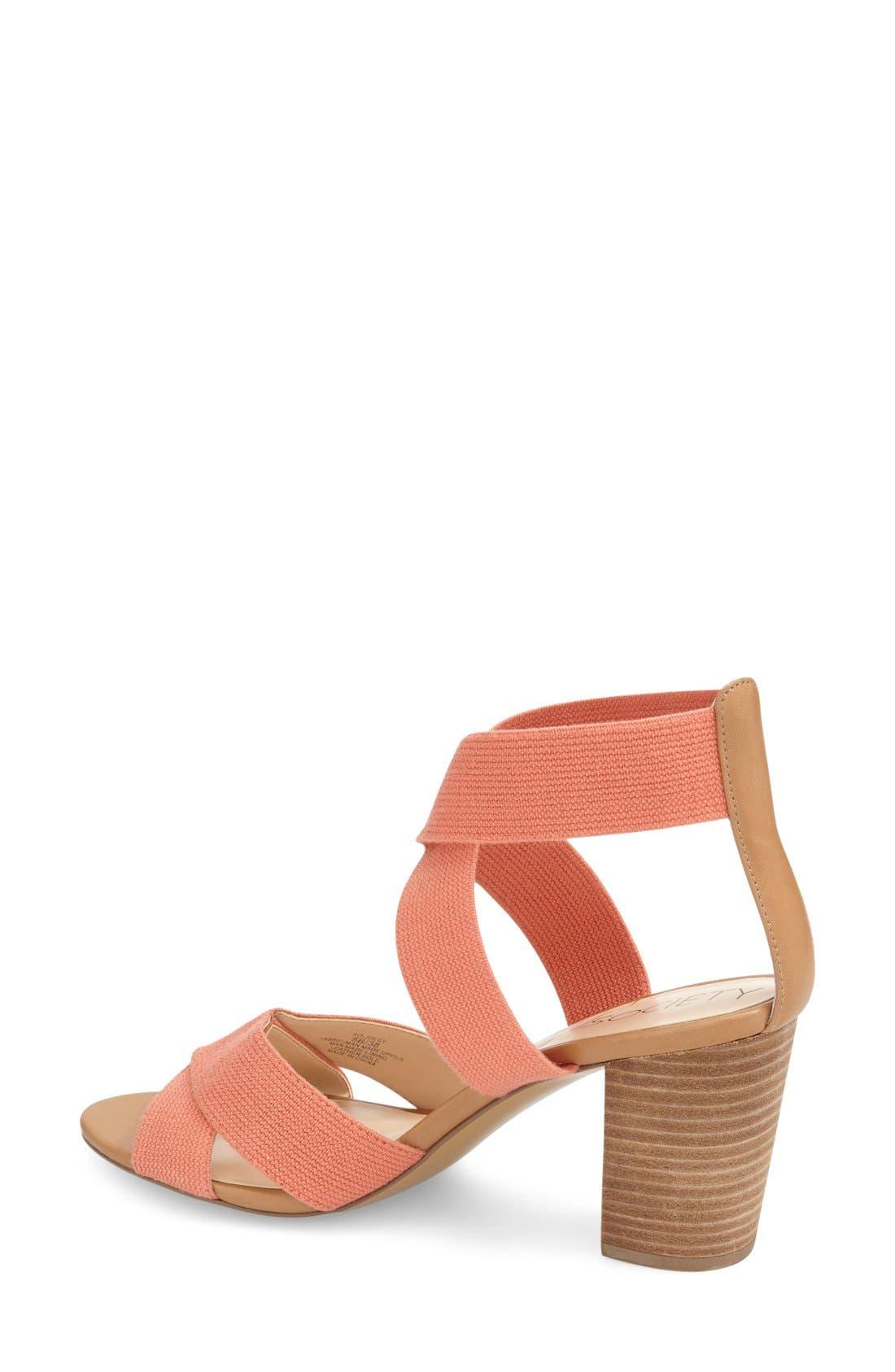 ,                             'Joesy' Block Heel Sandal,                             Alternate thumbnail 10, color,                             200
