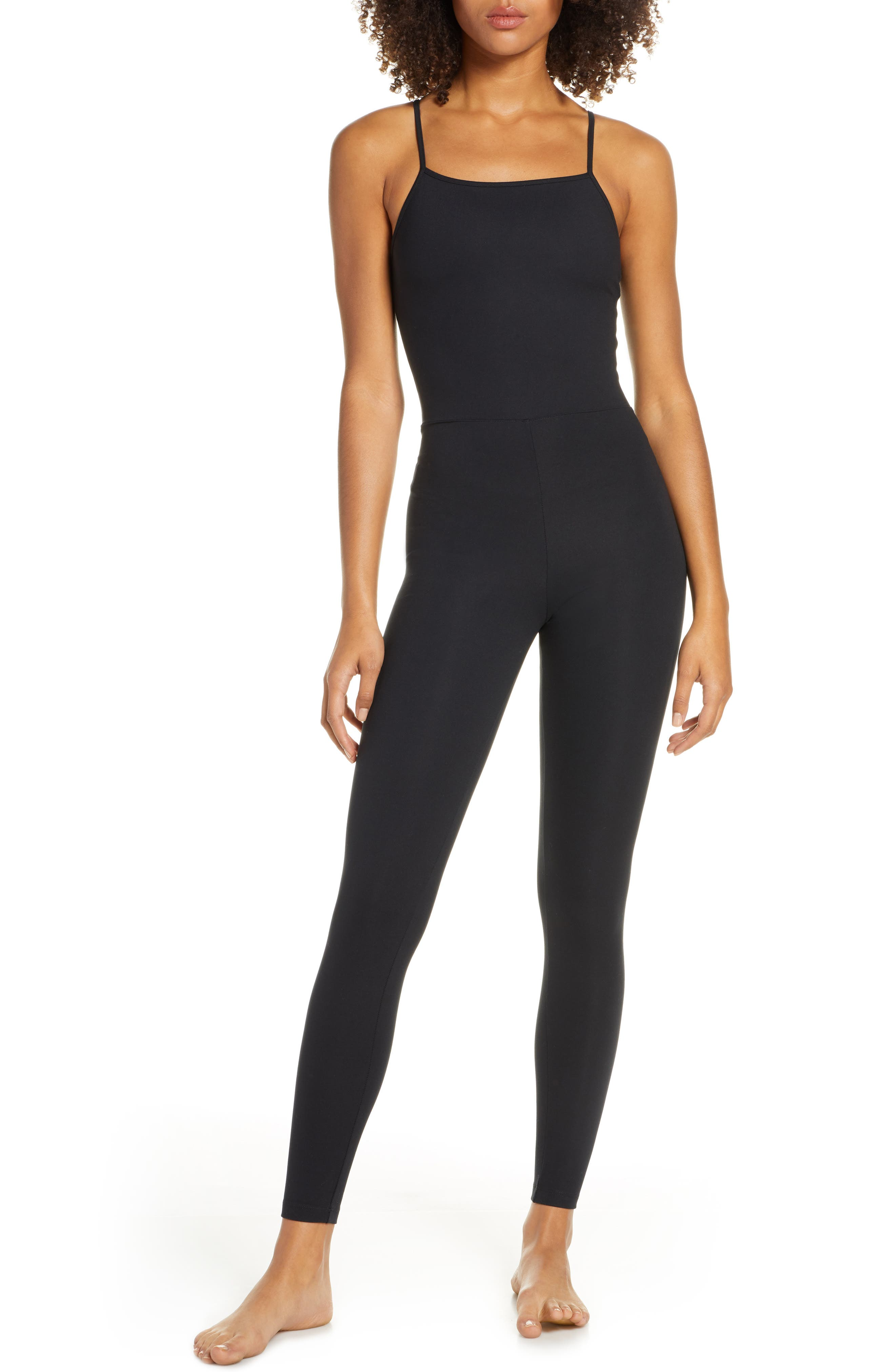 Girlfriend Collective Unitard, Black