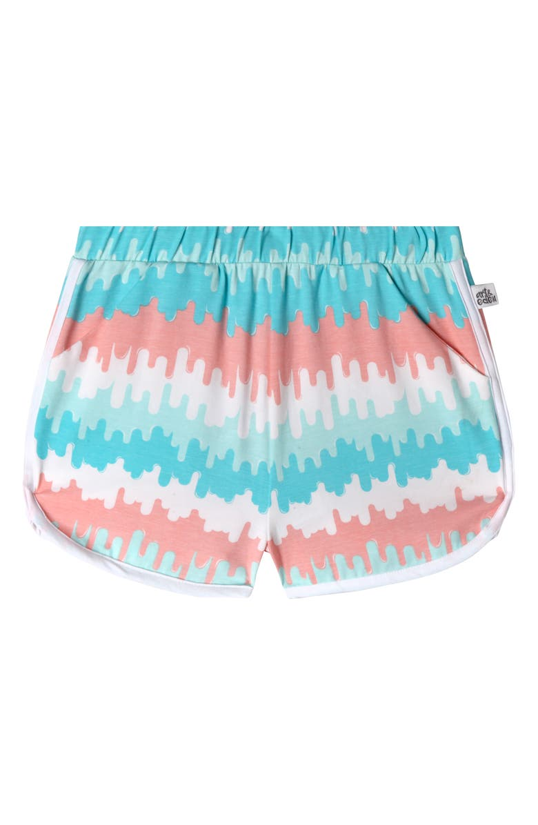 ART & EDEN Jillian Shorts, Main, color, WAVE STRIPE