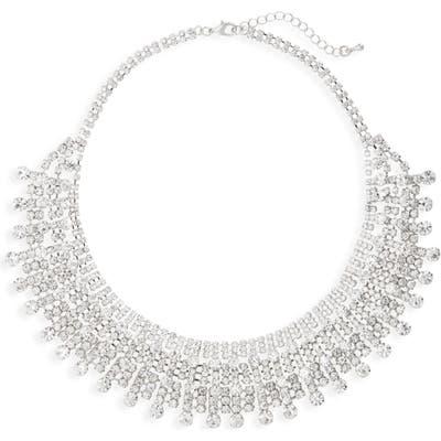 Nina Crystal Drama Collar Necklace