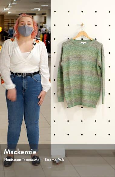 Space Dye Tunic Sweater, sales video thumbnail