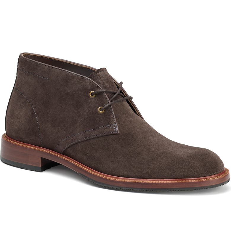 TRASK Landers Chukka Boot, Main, color, CHARCOAL SUEDE