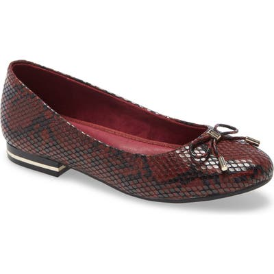 Kenneth Cole New York Balance Ballet Flat, Red
