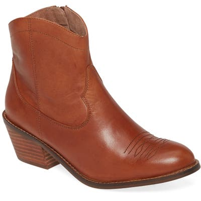 Seychelles Mysterious Bootie- Brown