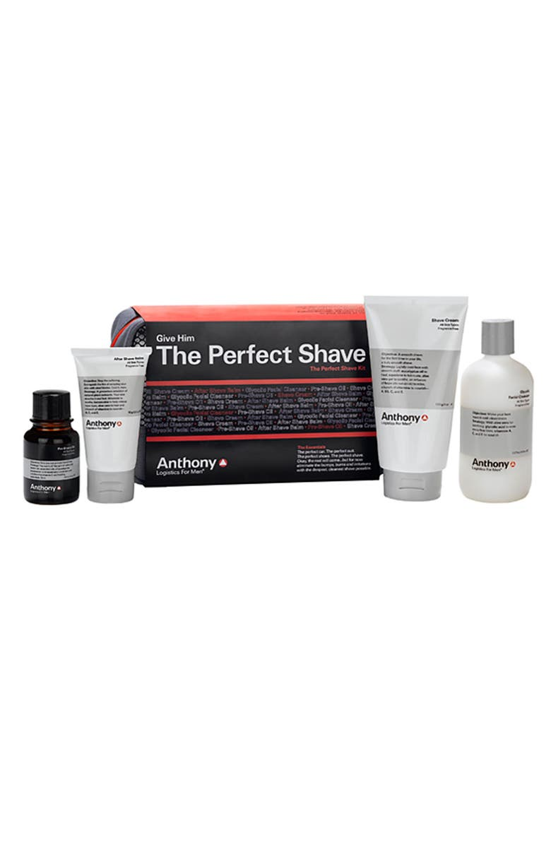 ANTHONY<SUP>™</SUP> The Perfect Shave Kit, Main, color, NO COLOR