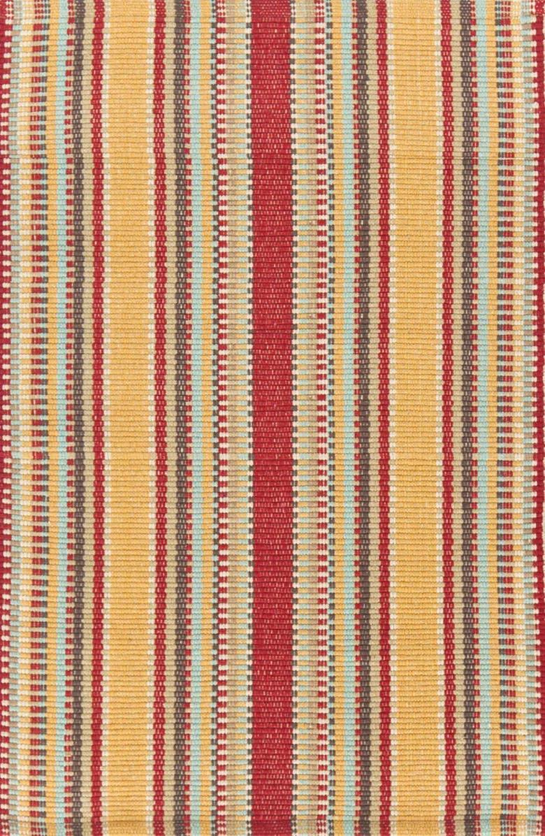 DASH & ALBERT 'Wyatt' Rug, Main, color, RED/ GOLD MULTI