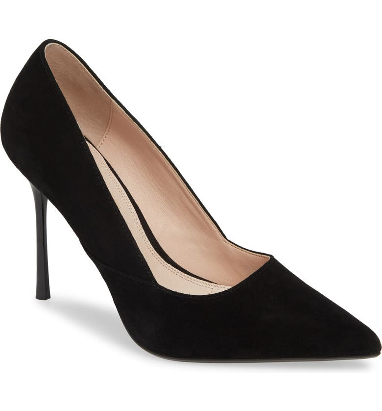 TOPSHOP Gigi Skinny Heel Pump, Main, color, 001